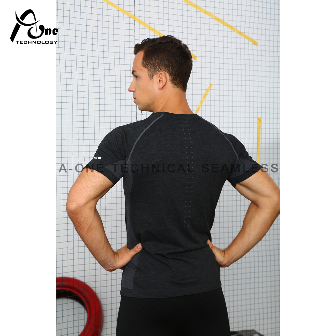 A1-90175 Mens T-shirt for Gym Wear