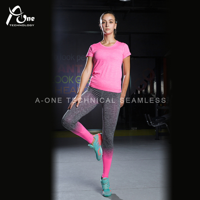 A1-166+A1-167 Woman Blossom Yoga Wear