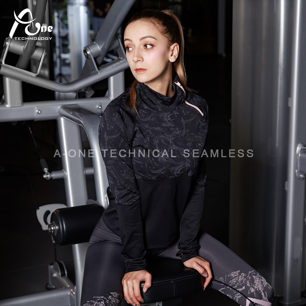 WY001 Lady Gym Workout Clothes